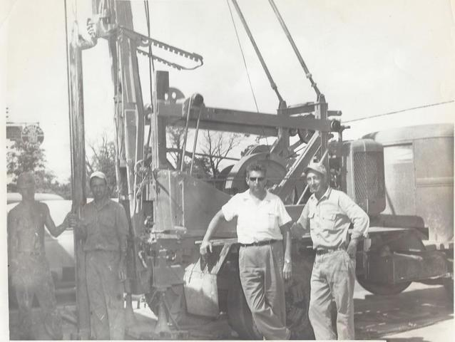 old well drilling photo