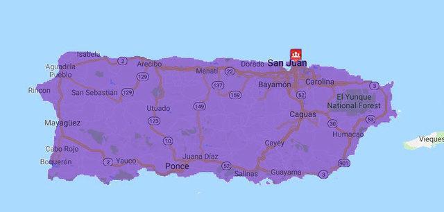 WaterCare Puerto Rico Service Area