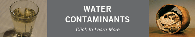 Water Contaminants Banner