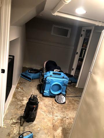 Sewage Damge Clean Up (After), Water Damage Remediation, water damage restoration, Austin,tx
