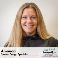 Amanda from Doug Lacey's Basement Systems