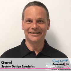 Gord from Doug Lacey's Basement Systems