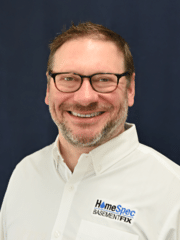 David Kingsley from HomeSpec BasementFix