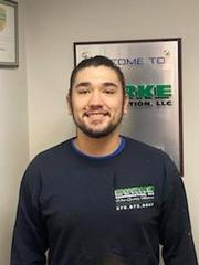 Lucas Adan from Burke Construction