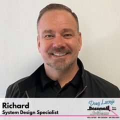 Richard from Doug Lacey's Basement Systems