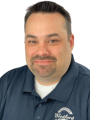 Eddie Van Slyke from Woodford Bros., Inc.