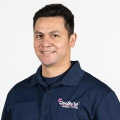 Wilver Cardoza from Quality 1st Basement Systems