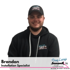 Brandon from Doug Lacey's Basement Systems