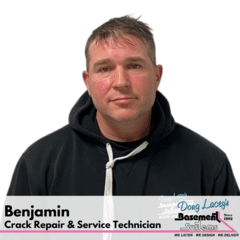 Benjamin from Doug Lacey's Basement Systems