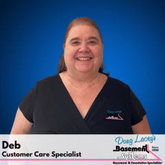 Deb from Doug Lacey's Basement Systems