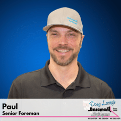 Paul from Doug Lacey's Basement Systems