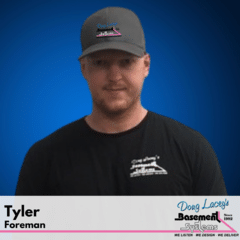 Tyler from Doug Lacey's Basement Systems