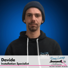 Davide from Doug Lacey's Basement Systems