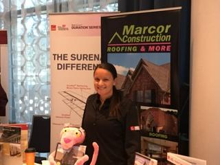 Gina Marzano from Marcor Construction Roofing & More