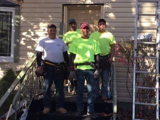 Crew from Stan's Roofing & Siding