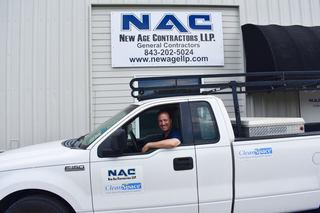 Junior Newell from New Age Contractors