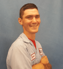 Tyler Kaminksi from Alber Service Company