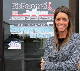 Amanda Longo from Bix Basement Systems