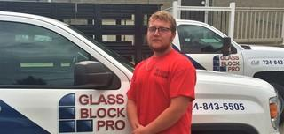Josh P. from Glass Block Pro