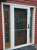 The Addition of a Storm Door in Newark, NY - Photo 1