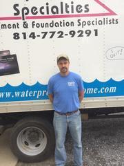 Creg Pura from Waterproofing Specialties