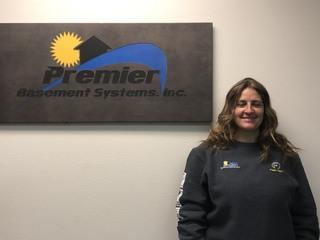 Kara Hamm from Premier Basement Systems