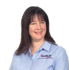 Laura McIntyre from Quality 1st Basement Systems