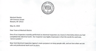 Testimonial Photo by New York Electrical Inspection Agency -.