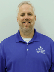 Fortress Foundation Solutions of Central Virginia & Maryland owner,  Jerry Glinski