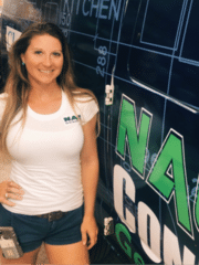 Katie Forcier from New Age Contractors