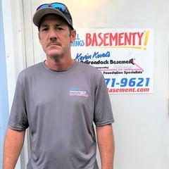 David Bleau from Adirondack Basement Systems