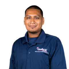 Luis Aguirre from Quality 1st Basement Systems