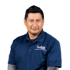 Victor Leon from Quality 1st Basement Systems
