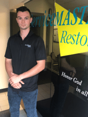 Jacob Philibert from ServiceMaster Restore