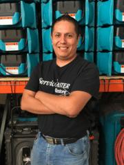 Juan Carlos Jacinto from ServiceMaster Restore