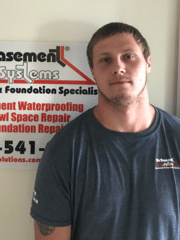Cody Gilles from Bix Basement Systems