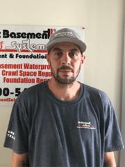 Corey Johnson from Bix Basement Systems