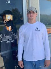 Dylan Mercier from Rhino Shield of Michigan