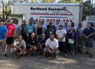 Production Crew from Northeast Basement Systems