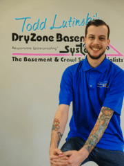 Nathan Garcia from DryZone Basement Systems
