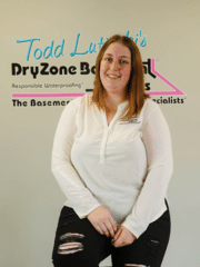 Sarah Ahearn from DryZone Basement Systems