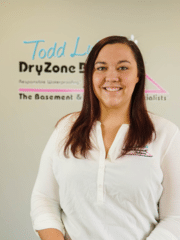 Erin Connolly from DryZone Basement Systems