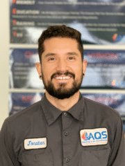 Jonatan Lopez from AQS Heating & Air Conditioning