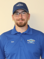 Daniel Jacobs from Cowleys Pest Services