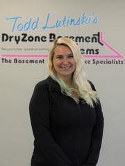 Courtney Kuzmich from DryZone Basement Systems