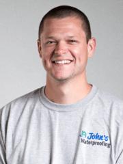 Jacob Bilyeu from John's Waterproofing