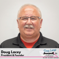 Doug Lacey from Doug Lacey's Basement Systems