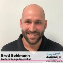 Brett Bohlmann from Doug Lacey's Basement Systems