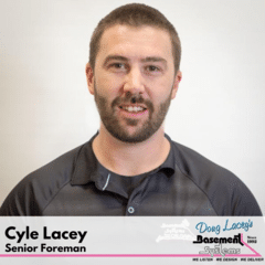 Cyle Lacey from Doug Lacey's Basement Systems