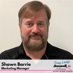 Shawn Barrie from Doug Lacey's Basement Systems